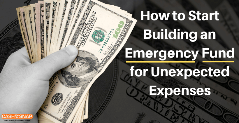 How to Start Building an Emergency Fund for Unexpected Expenses