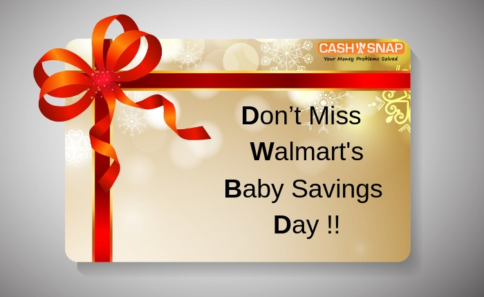 Don't Miss Walmart's Baby Savings Day This Weekend!