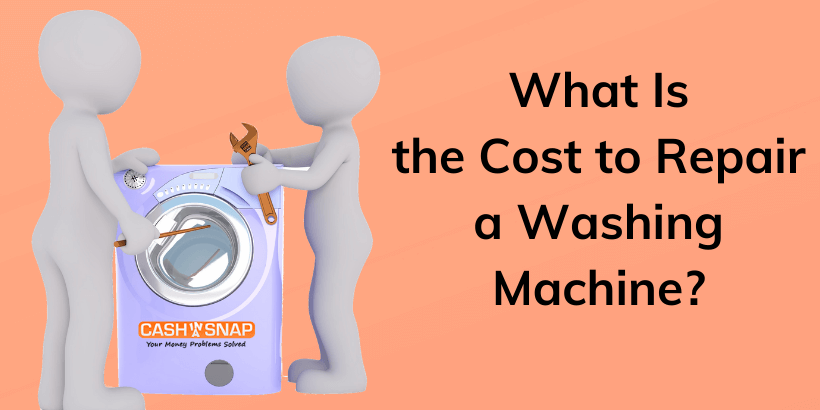 Washing machine repair cost