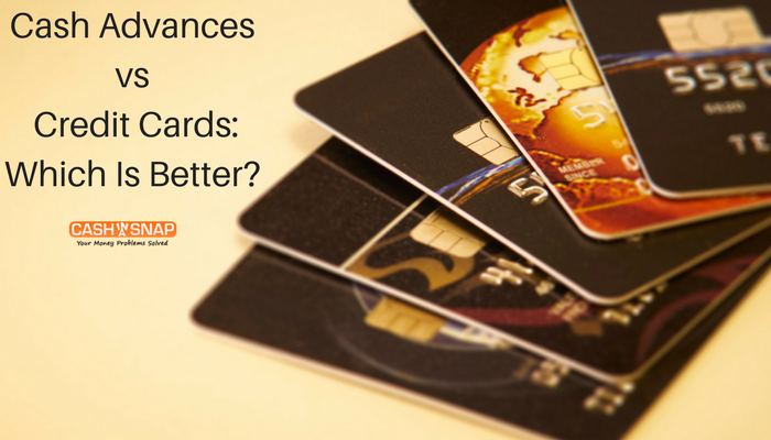 Cash Advances vs. Credit Cards: Which Is Better?
