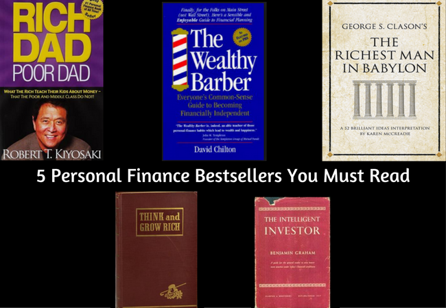 5 Personal Finance Bestsellers You Must Read