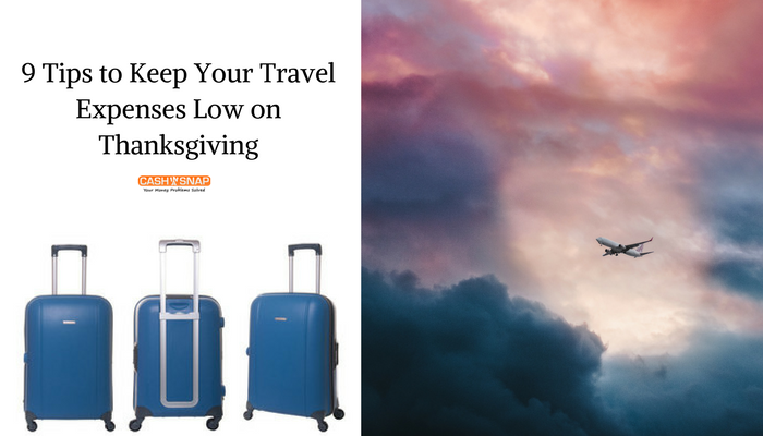 Keep Your Travel Expenses Low on Thanksgiving