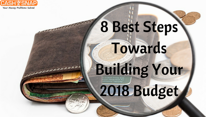 8 Best Steps Towards Building Your 2018 Budget