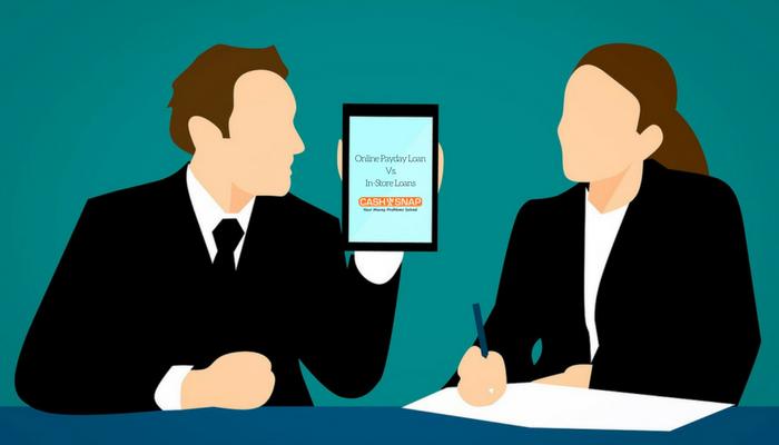 Online Payday Loan Vs. In-Store Loans