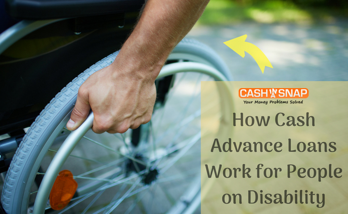 Cash Advance Loans For People On Disability