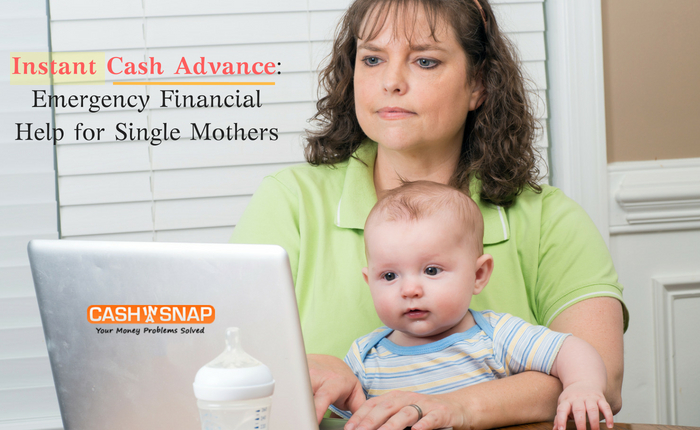 Instant Cash Advance: Emergency Financial Help for Single Mothers