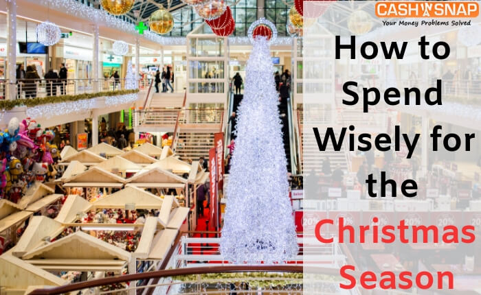 Spend Wisely for the Christmas Season