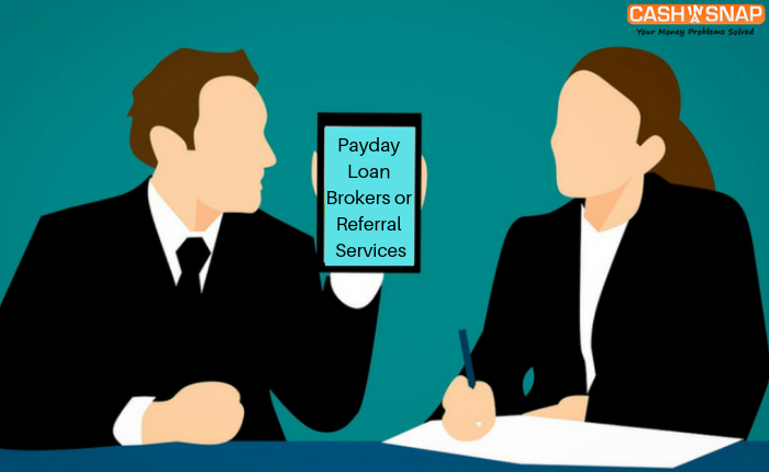 Payday Loan Brokers or Referral Services